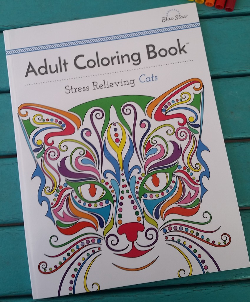 Stress relieving cats coloring - Stress Relieving Cats Coloring 19