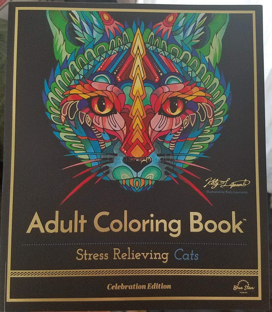 Stress relieving cats coloring - Stress Relieving Cats Coloring 54